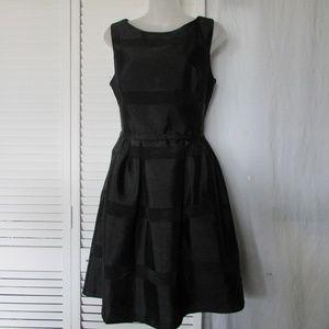 Taylor sleeveless black dress size 10